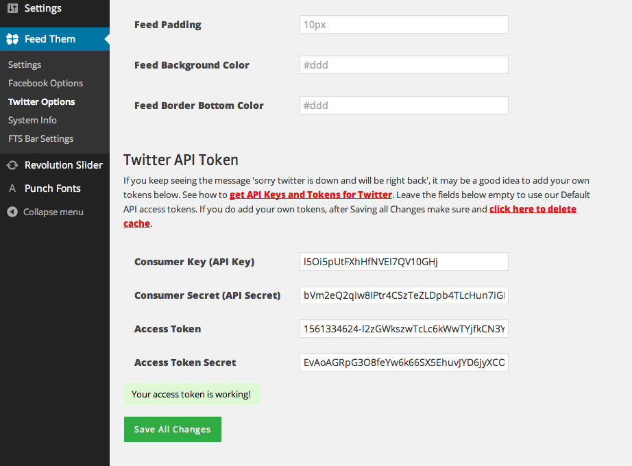 How to get API Keys and Tokens for Twitter | SlickRemix