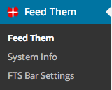 FTS Premium Settings page