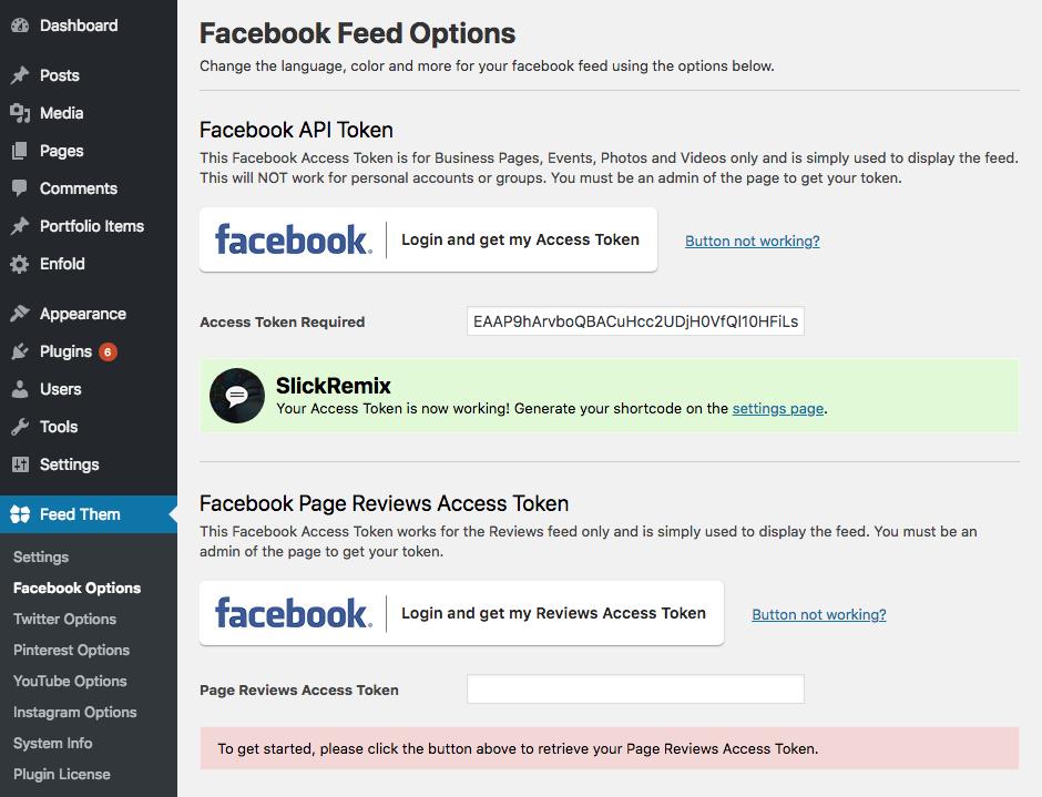Create Facebook App ID Token | SlickRemix