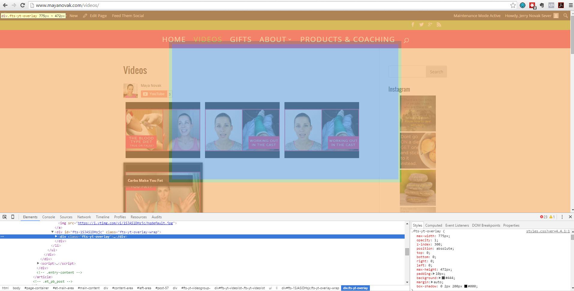 topic: youtube overlay not showing – divi theme | slickremix