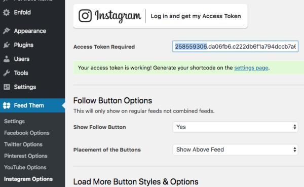 INSTAGRAM API CODE - Token developer instagram / Bmc coin